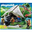 Playmobil - 4843 Treasure Hunters Camp with Giant Snake