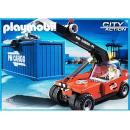 Playmobil - 5256 Cargo Transporter with Container