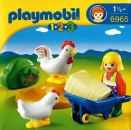 Playmobil - 6965 Farmer's Wife with hens
