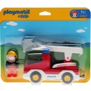 Playmobil - 6967 Ladder Unit Fire Truck