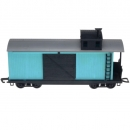 Timpo Toys - Railway Train Brake Car Blue