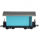 Timpo Toys - Railway Train Car Blue