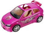 BARBIE - 2003 - Flavas Doll Street Rod Car