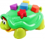 Fisher-Price - B0336 Klopfspass Schildkröte