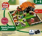 Steckpuzzle Playtive Junior - Farm