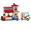Lego System 6350 - Pizza-Paules Lieferservice