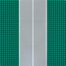 Lego Baseplate 32x32 green Road Straight 2358p03