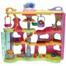 Littlest Pet Shop - Playset - 66823 Round & Round Pet Town - Husky 0358, Chimpanzee 0359