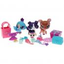 Littlest Pet Shop - Advent Calendar 2010 - 94923 - Collie 1676, Deer 1677, Peacock 1678