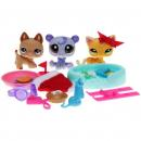 Littlest Pet Shop - Advent Calendar 2011 - 33451 - Cat 2194, Polar Bear 2195, German Shephard 2196