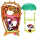 Littlest Pet Shop - Cutest Pets 36968 - Monkey 2469, Zebra 2470