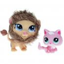 Littlest Pet Shop - Cutest Pets 39646 - Lion 2574, Kitten 2575