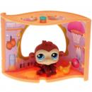 Littlest Pet Shop - Pet Nook - 0351 Monkey