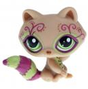 Littlest Pet Shop - Postcard Pets - 1354 Racoon