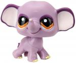 Littlest Pet Shop - Sassiest Pet - 1086 Elephant