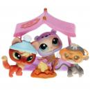 Littlest Pet Shop - Snowy Day 93138 - 1028 Fox, 1029 Monkey, 1030 Seal