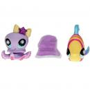 Littlest Pet Shop - Spring Pets 84650 - Octopus 0862, Angelfish 0863