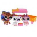 Littlest Pet Shop - Themed Play Pack 32577 - Spots & Dots Treat Shop - 2306, 2307, 2308