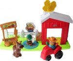 Little People R6929 - Click n Fun Bauernhof