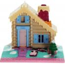 Polly Pocket Mini - 1993 - Pollyville - Ski Lodge brown - Bluebird Toys 940241