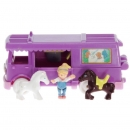 Polly Pocket Mini - 1994 - Stable on the Go Mattel Toys 11970