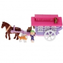 Polly Pocket Mini - 1995 - Circus Wagon on the Go Mattel Toys 14536