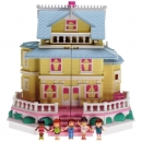 Polly Pocket Mini - 1995 - Pollyville - Clubhouse - Bluebird Toys